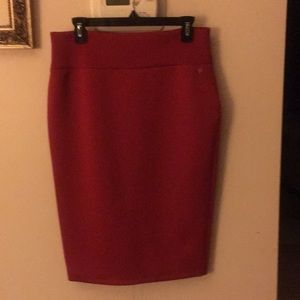 Thalia SODI Large Red skirt, stretch Beautiful